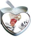Earthly Body Edible Heart Candles