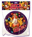 Let's Party™! Happy Penis Partyware™ Plates - Dessert Size (8)