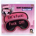 Joanna Angel Blunt Blindfold Set Vinyl & Satin