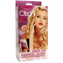 Bree Olson Glitter Glam Strap-On Harness and Dong