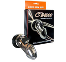 6000 Designer Collection Male Chastity Device Chrome