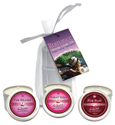 3-In-1 Valentine's Day Candle Trio Gift Set