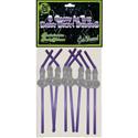 Glow-In-The-Dark Dickey Straws