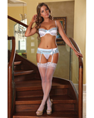 American Samoa Bra Garter And G String Set
