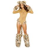 Leopard Princess Roma Halloween Costume
