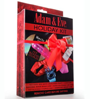 Adam and Eve Holiday Sex Kit