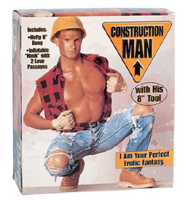 Construction Man Love Doll